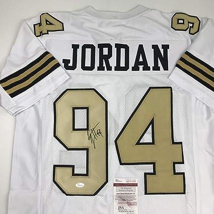 0a20a7b0a2e Autographed/Signed Cameron Cam Jordan New Orleans Saints Color Rush  Football Jersey JSA COA