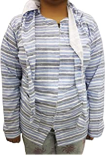 1e34a44c0bd2 Mahi Fashion Women Girls Ladies Summer Coat Hosiery (Cap Scarf Attached)