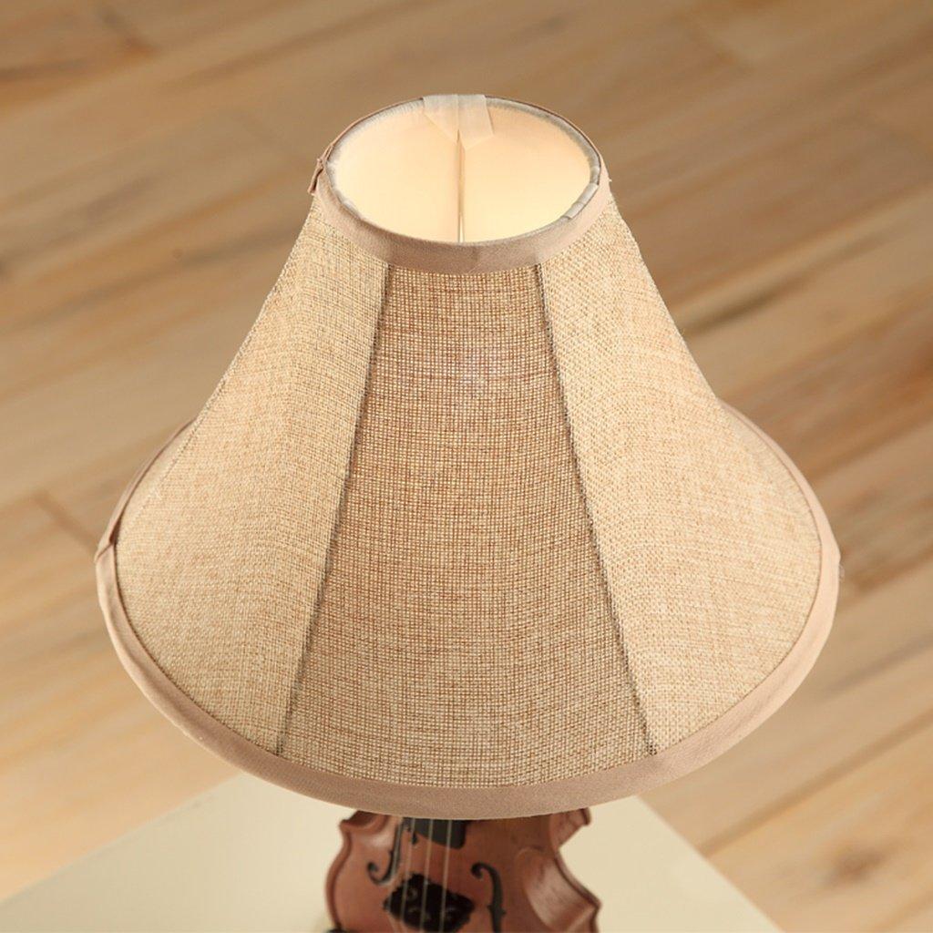 1 Guo Creativa lampada da tavolo in stile europeo pastorale lampada Soggiorno lampada da letto comodino rurale lampada violino E27