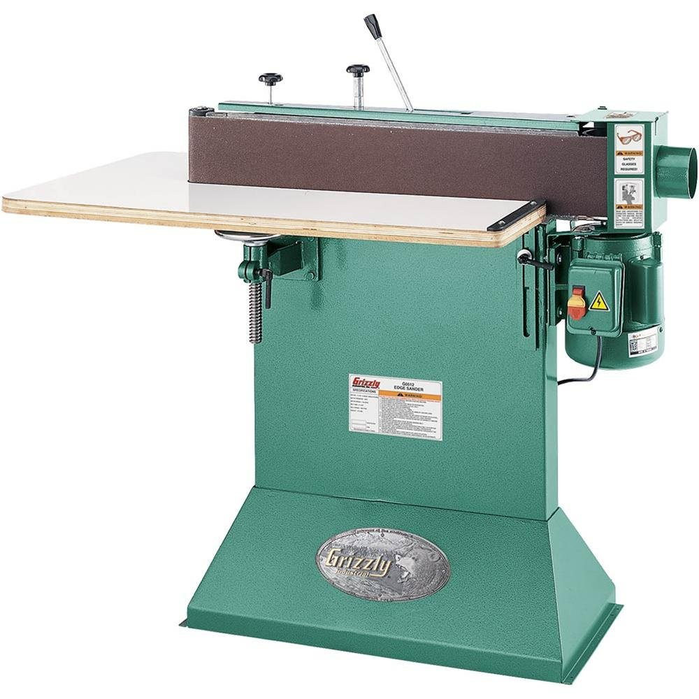 Grizzly G0512 Edge Sander with Wrap-Around Table