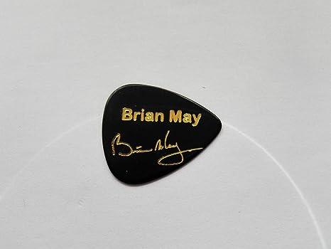 Brian May Reina firma con sello de coleccionista – púas púa de guitarra 0,71