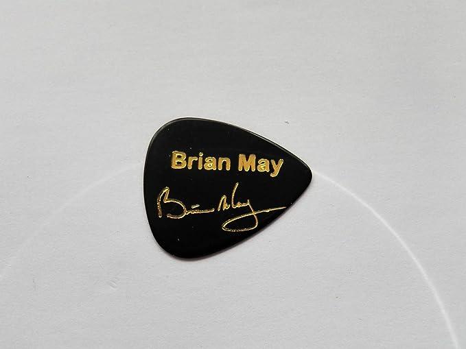 Brian May Reina firma con sello de coleccionista - púas púa de ...