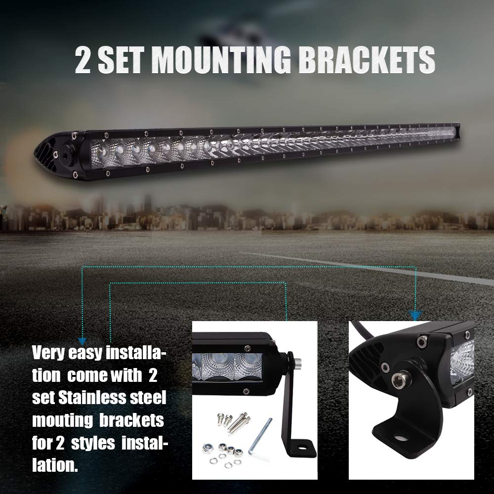 Fit Can Am Maverick X3 Ds Rs Max 50 Led Offroad Light Bar W Wiring Off Road Lights Harness