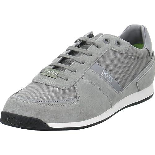 BOSS 50407903/GLAZE_LOWP_MX/030 - Zapatillas para Hombre Gris Gris Claro: Amazon.es: Zapatos y complementos