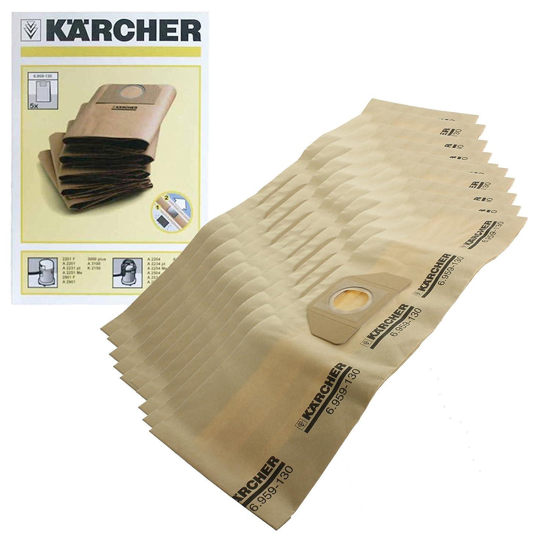 Genuine Karcher WD3.000 WD3.999 aspiradora doble bolsas de ...