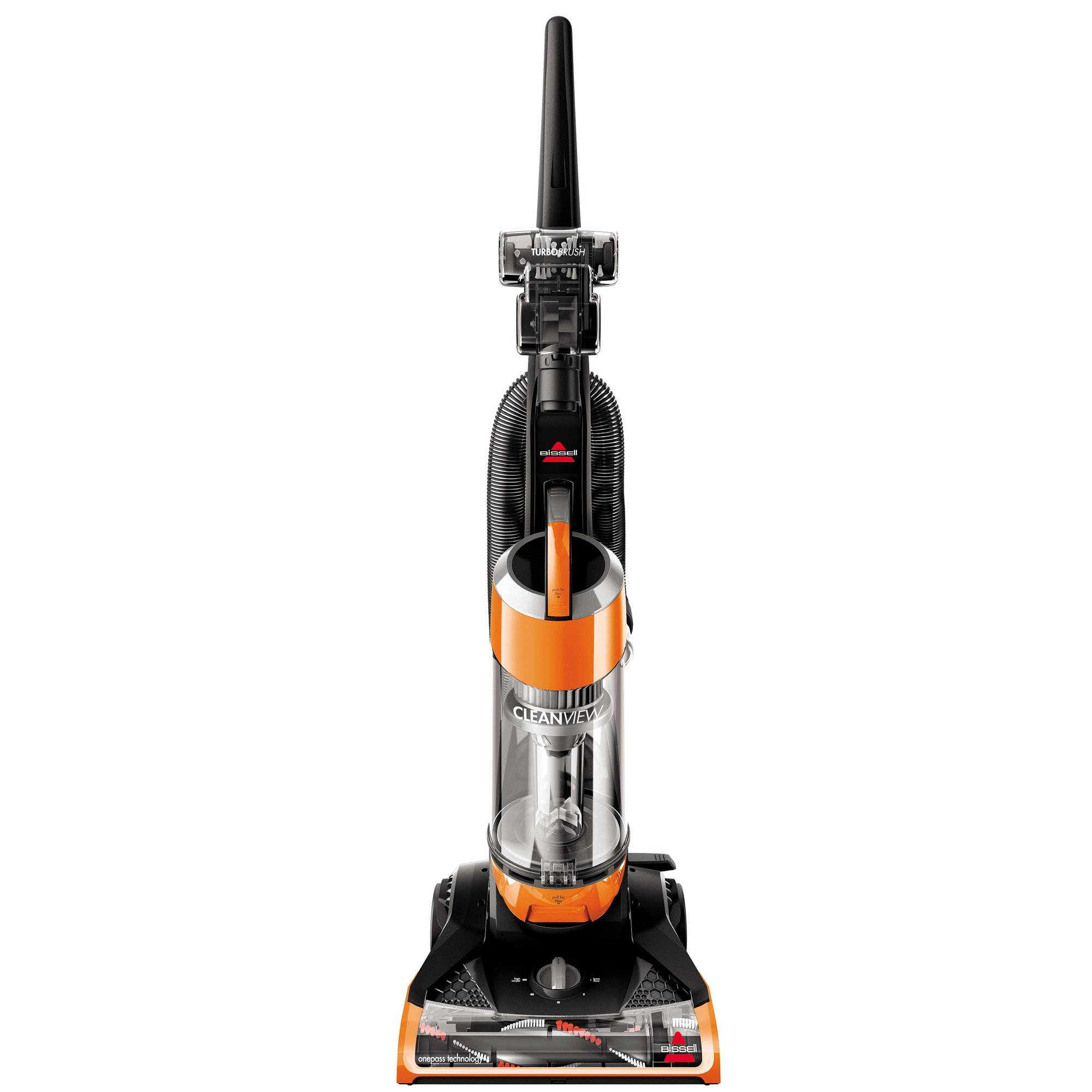 Bissell Cleanview Upright Bagless Vacuum Cleaner, Orange, 1831 by Bissell