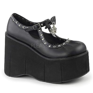 42f05de6414c Demonia Womens KERA-14 BVL Sandals