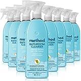 Method Bathroom Cleaner, Eucalyptus Mint, 28 Ounce (Pack 8)