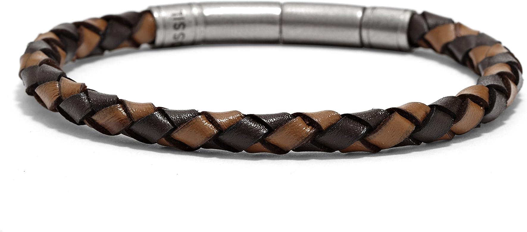 bracelet cuir vintage