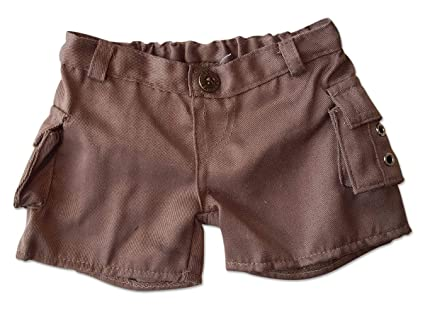 3dbb73dc687 Image Unavailable. Image not available for. Color: Cargo Shorts Teddy Bear  Clothes Fit ...