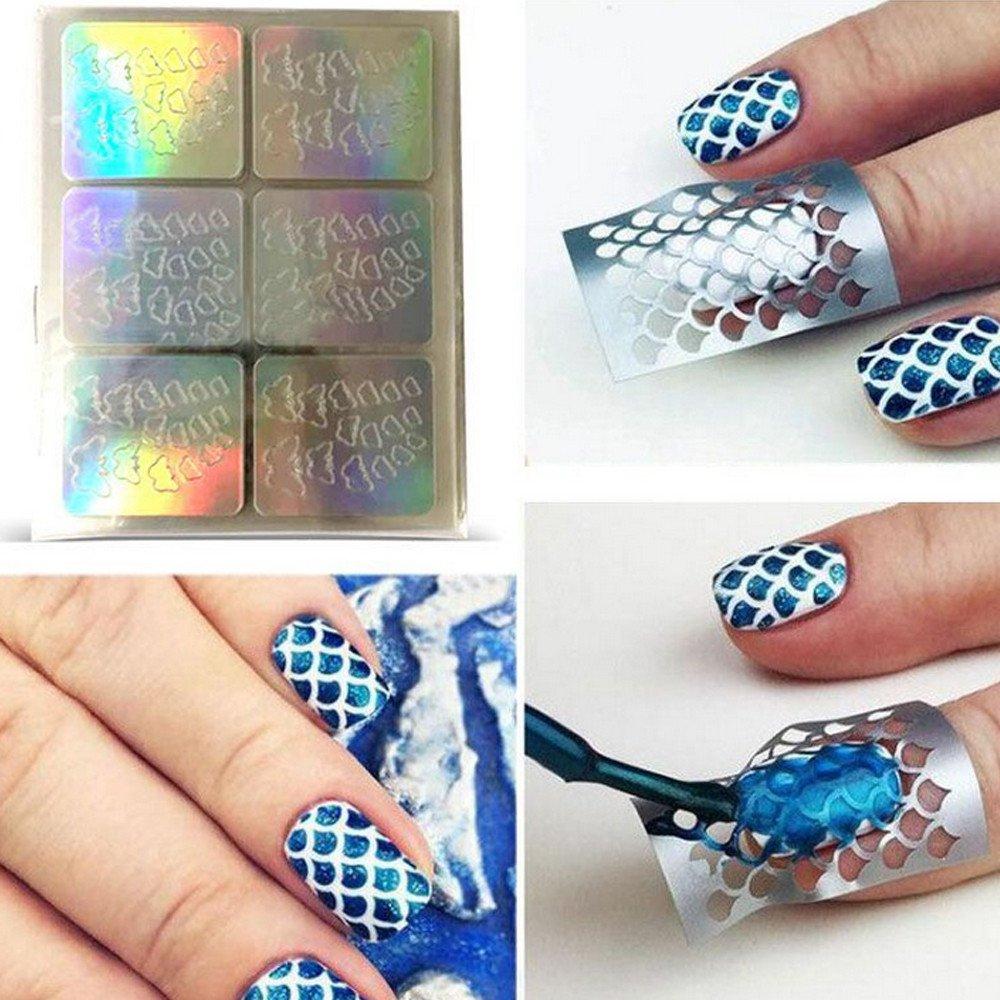 DIY Nagel Sticker Aufkleber Wasser Transfer Nail Art Sticker ...