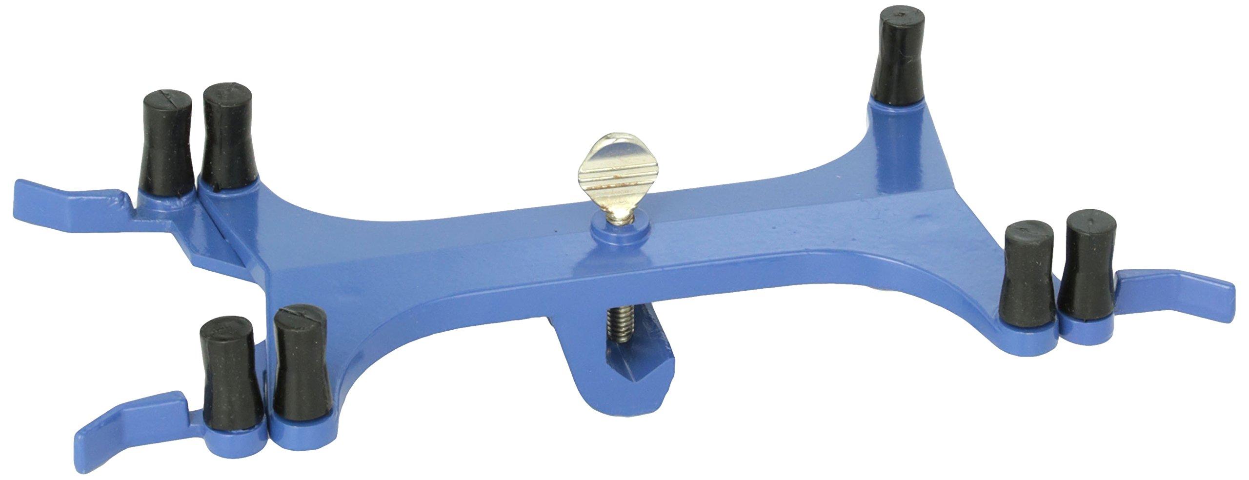 United Scientific CLBURDD Die Casted Aluminum Double Buret Clamp