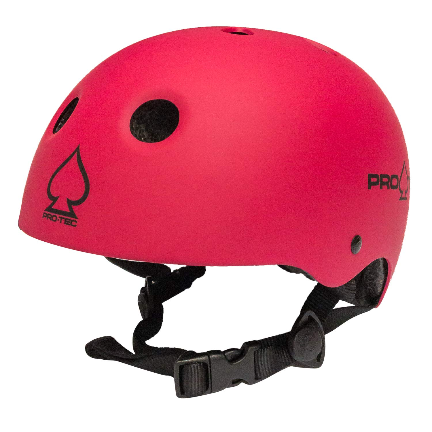 Pro-Tec Classic Certified Skate Helmet (Matte Pink, Small)