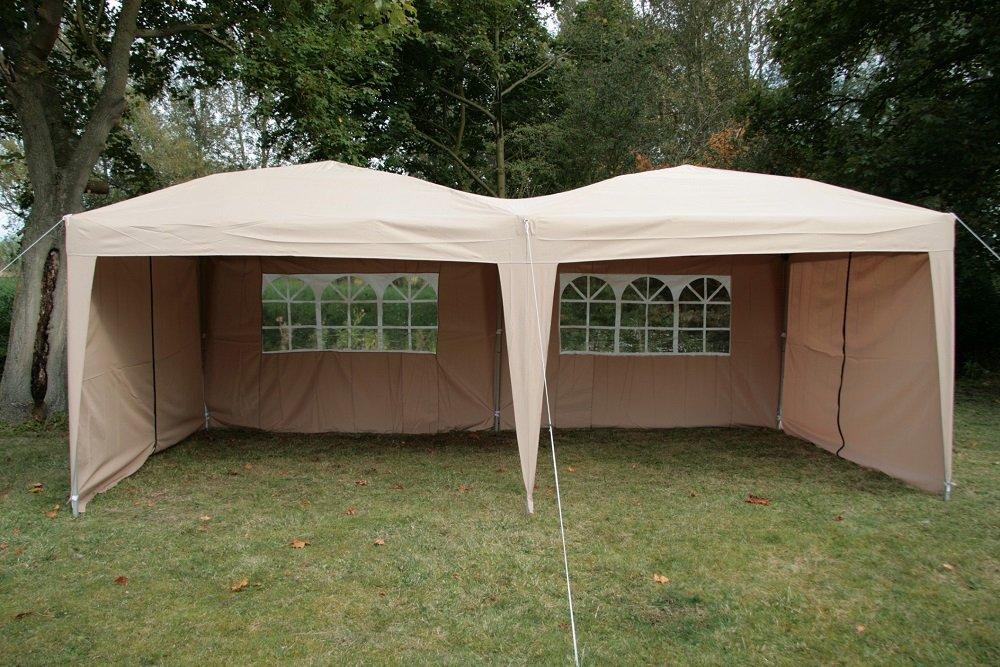 Airwave Pop-Up-Pavillon, 6 x x x 3 m, beige 7b7095