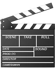 Neewer 30x 27cm de Madera Película Película Slateboard del Director claqueta