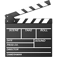 Neewer 12''X11''/30cm X 27cm Wooden Director's Film Movie Slateboard Clapper Board