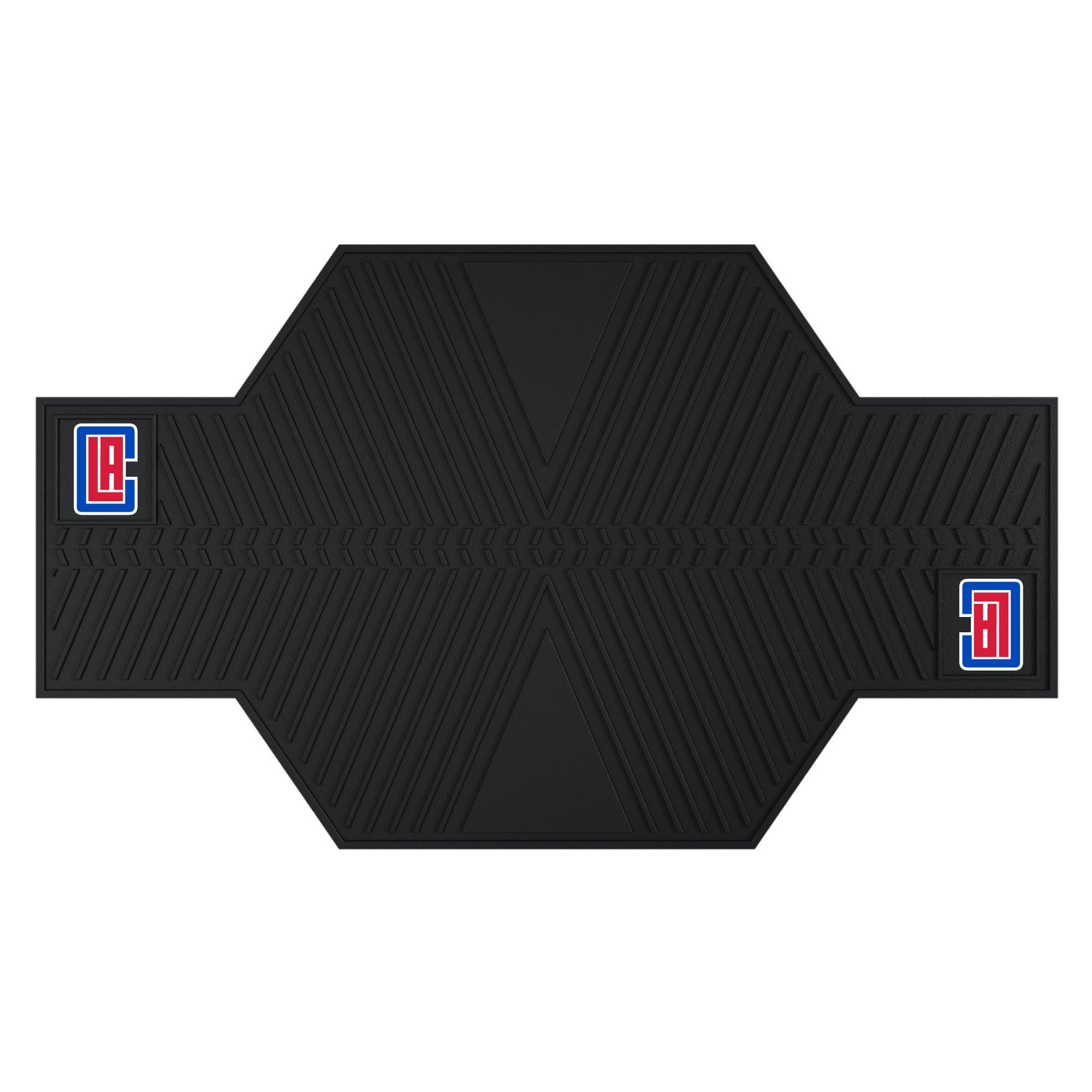 FANMATS 15380 NBA Los Angeles Clippers Motorcycle Mat