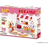 LaQ Sweet Collection Dreams - 15 Models, 630 Pieces - Creative Construction Toy