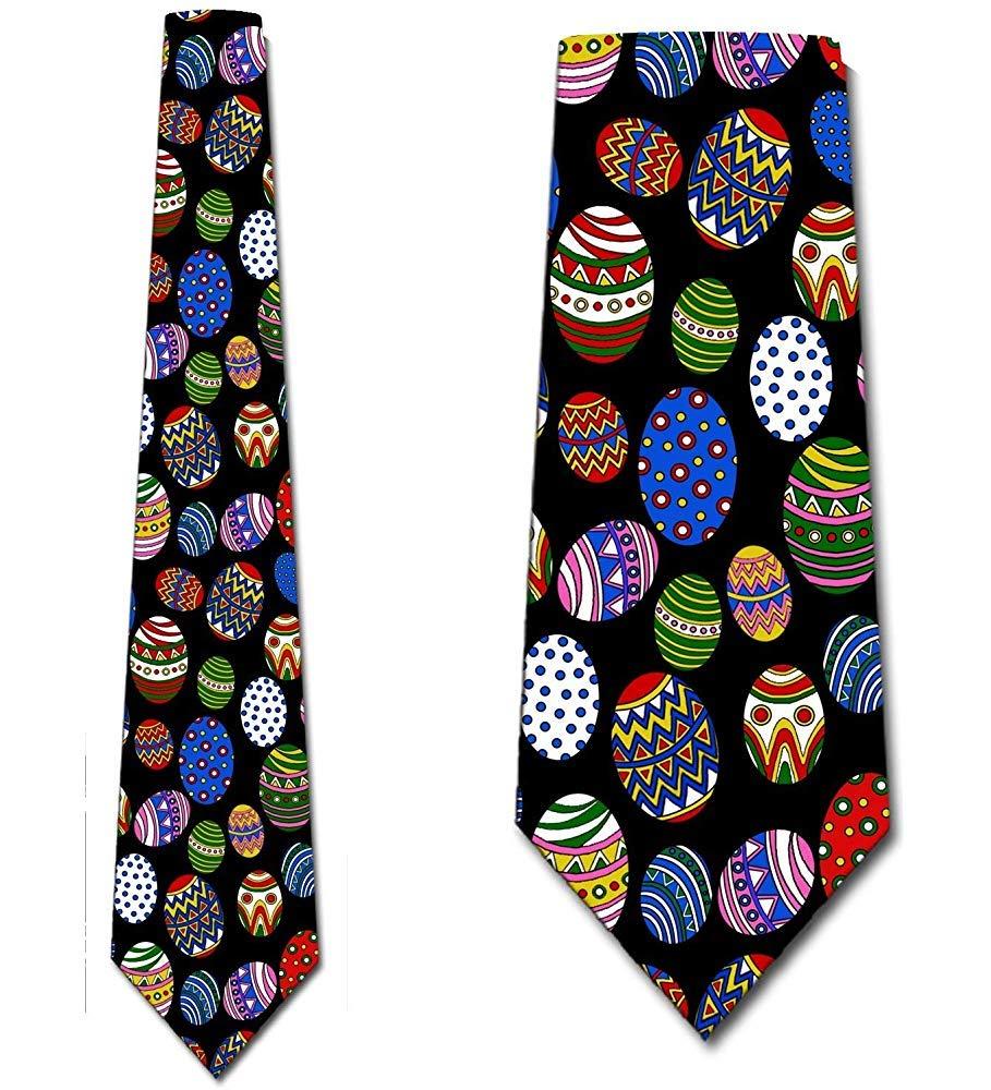 Corbatas de Pascua Corbata de vacaciones de huevo de Pascua para ...