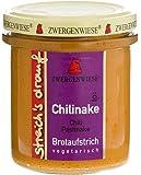 Zwergenwiese Bio Aufstrich streichs drauf Chilinake (Chili-Pastinake), 160 g