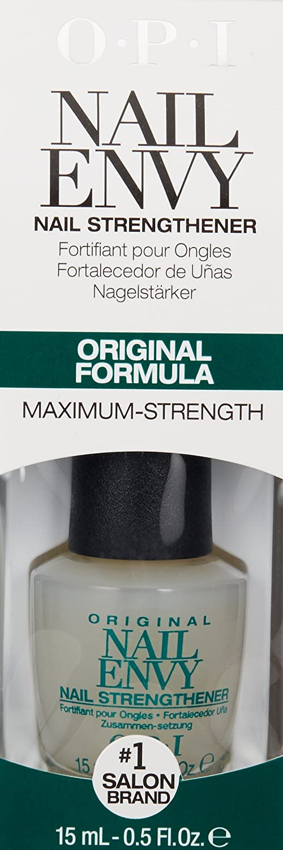 Amazon.com: OPI Nail Envy Nail Strengthener, Original, 0.5 fl. oz ...