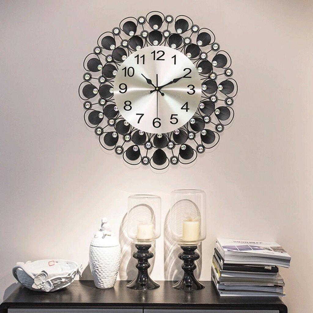 TXXM® アートウォールクロックモダン時計リビングルームパーソナリティシェルシンプルクリエイティブウォールクロッククォーツクロックミュートクロック (サイズ さいず : 70cm) B07F7DVHNZ70cm
