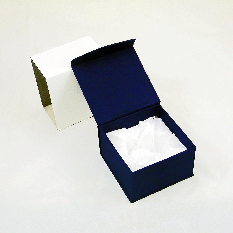 Amlong Crystal Diamond Tealight Candle Holder Clear Set of 6