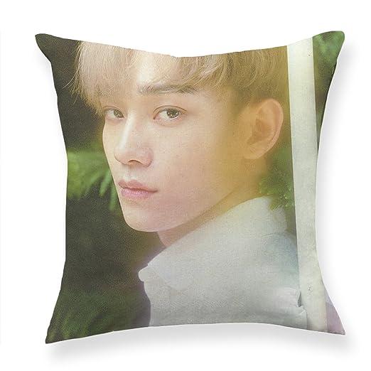 Fanstown kpop EXO la guerra manta almohada Core incluido de ...