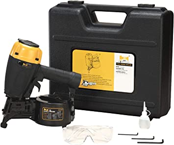 Hbt Hbcn65p 15 Degree Coil Siding Nailer With Magnesium Housing 1 1 4 Inch To 2 1 2 Inch Plastic Wire Collated Coil Siding Nails Amazon Com