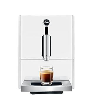 JURA A1 Piano White Independiente Máquina espresso Blanco 1,1 L 9 tazas Totalmente automática - Cafetera (Independiente, Máquina espresso, 1,1 L, ...