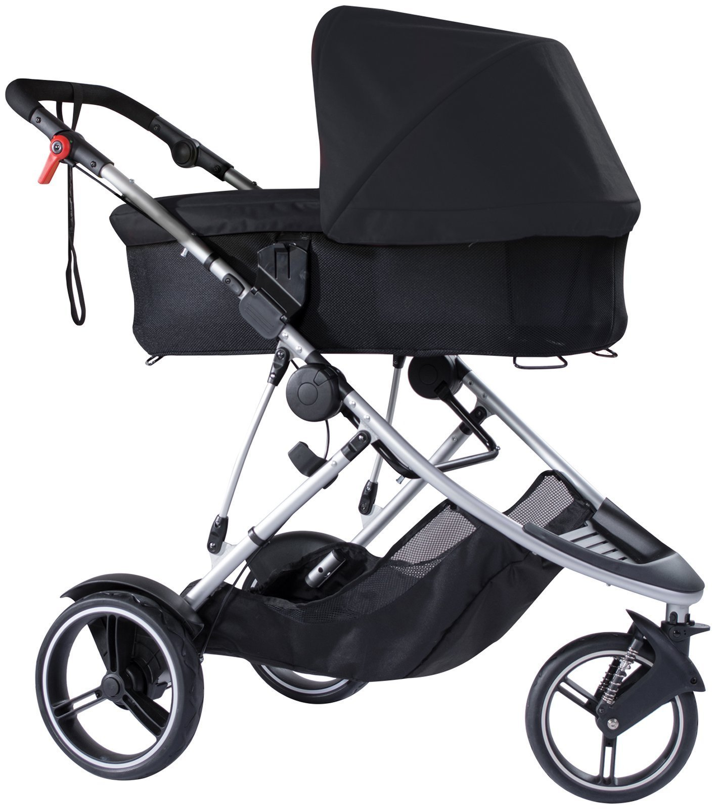 phil&teds Snug Carrycot for Dash Stroller, Black by phil&teds (Image #2)