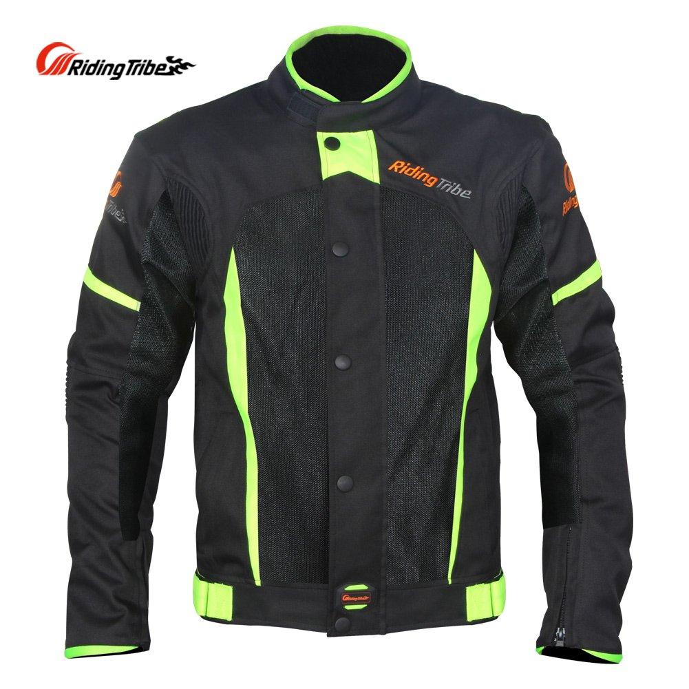 Men's Motorcycle Waterproof Breathable Riding Jacket, Black, XXXXL