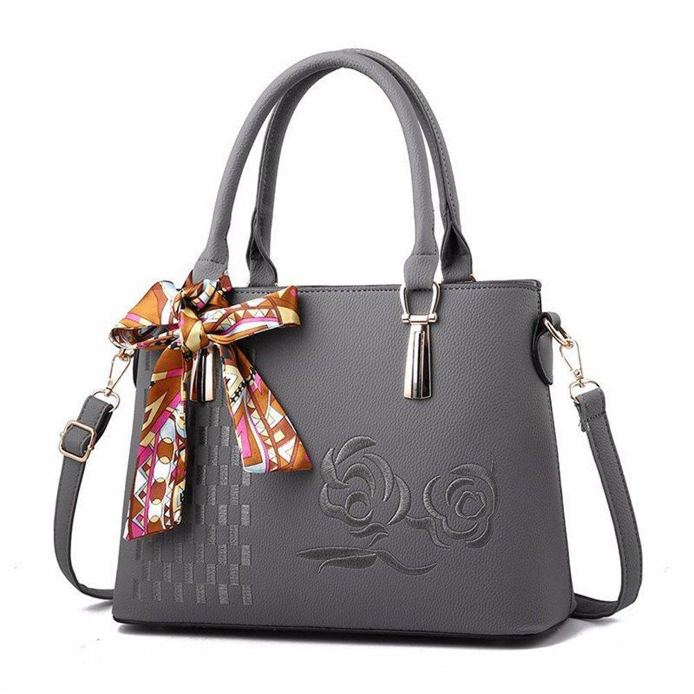 GWQGZ Neue Minimalistische Handtasche Damen Damen Damen Handtasche Grau B07F2W98FR Schultertaschen Erste Qualität 783074