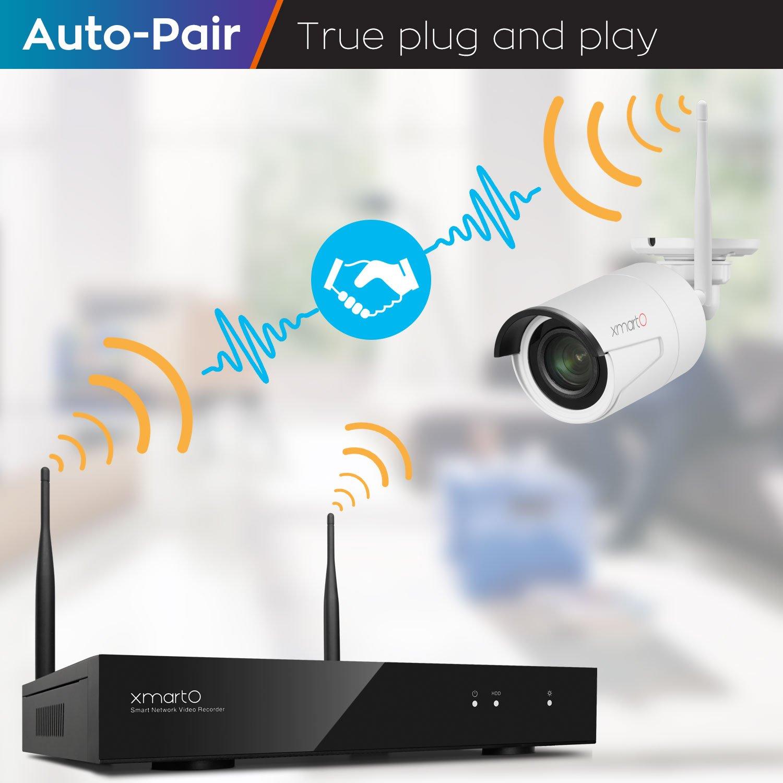 xmartO 8CH 960p HD Expandable Wireless