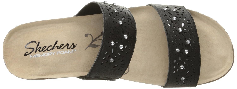 9e6e30ffa727 Skechers Women s Troos Skitter Wedge Sandal  Amazon.co.uk  Shoes   Bags