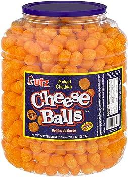 Utz Cheese Balls 35 Oz Barrel