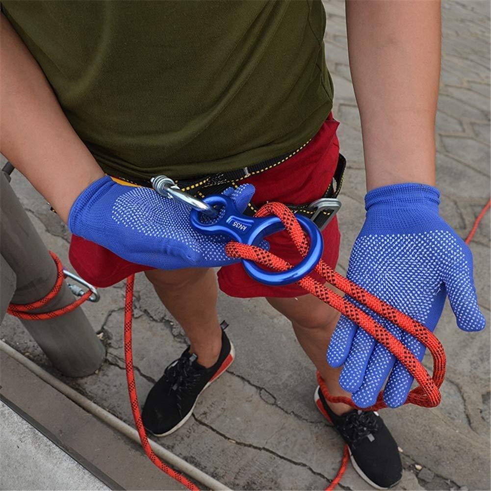 statisches Seil Baumkletterseil 100 m blau 12 mm rei/ßfest Mehrzweck-Sportschnur 70 m 80 m LQBDJPYS Kletterseil 60m 60 m
