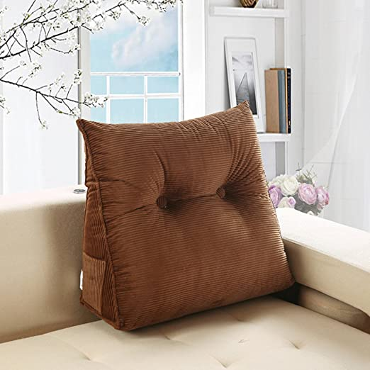 VERCART verc Tipo Wedge Pillow Bed Wedge Pillow Sofá ...