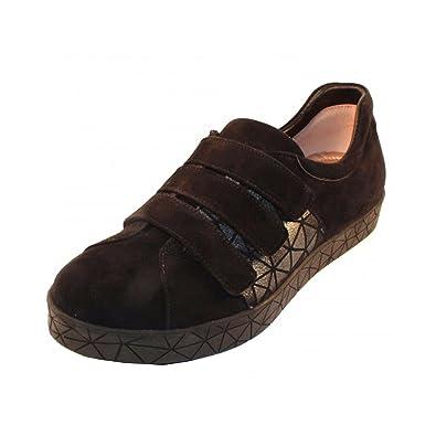 Women's Miki Suede Velcro Slip-On