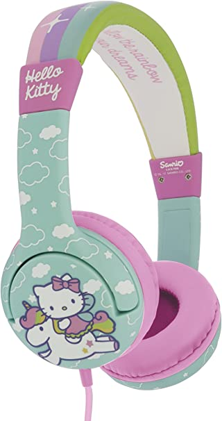Hello Kitty HK0568 Unicorn - Auriculares Infantiles