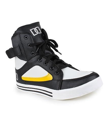 daa65dd2981ea APPE Men s Black Synthetic Casual Shoes APPE-0035BLACK-6  Buy Online ...