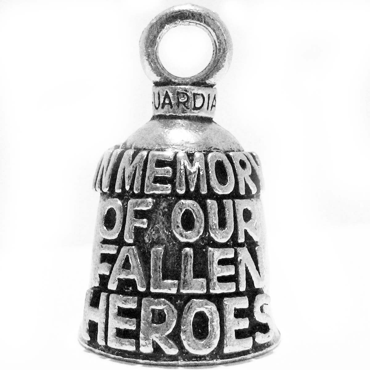 Guardian/® In Memory of Our Fallen Heros Motorcycle Biker Luck Riding Bell or Key Ring Guardian� Bells GBMEMO