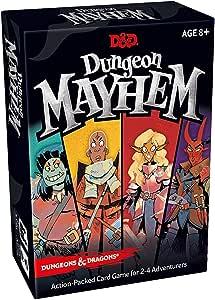 Avalon Hill 630509785148 Dungeons & Dragons: Dungeon Mayhem, Multicolor: Amazon.es: Juguetes y juegos