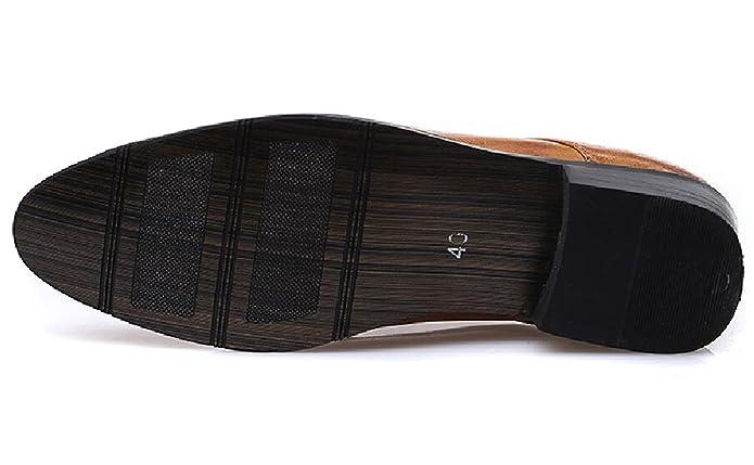 Haferlschuh Herren Trachtenschuhe Brogue Schnürhalbschuhe Derby Schuhe Braun 38 EU p9X1Dv