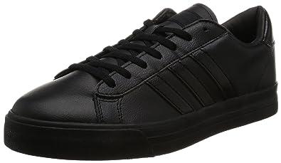 timeless design 395bd 2464d adidas Cloudfoam Super Daily, Chaussures de Tennis Homme, Noir Negbas, 42 EU