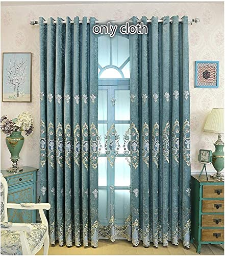 TIYANA Grommet Curtains Royal Style 84 inch Length