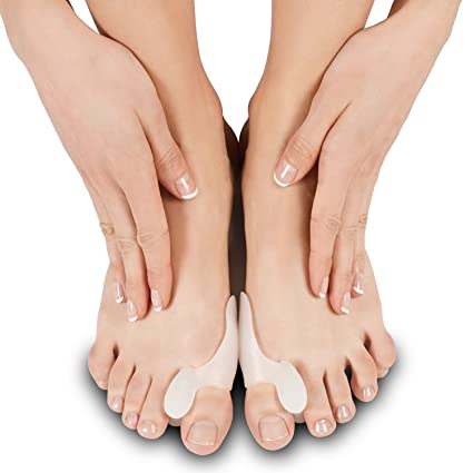 Amazon.com: Silicone Bunion Corrector by Soles - Bunion Pad & Toe Spacer - Comfortable Soft Gel Toe Separator - One Size Fits All - Reduces Toe Pain and ...