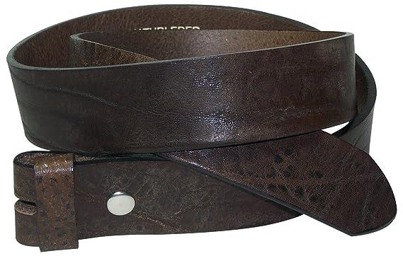 ec89058c3dc2 Fronhofer Ceinture modulable   Ceinture écologique sans boucle   Ceinture à  bouton-pression   cuir