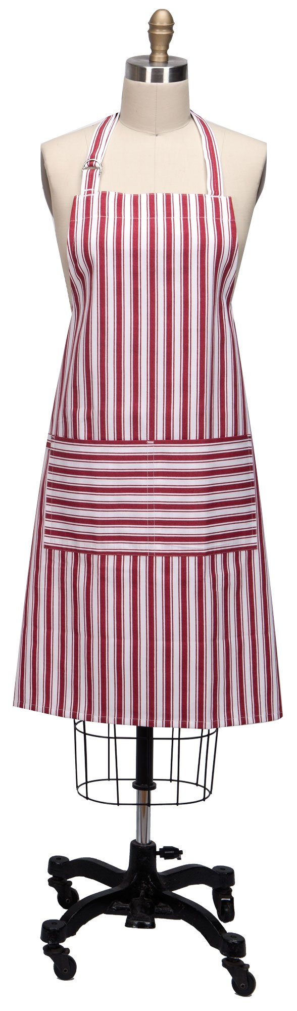 Kay Dee Designs R9211 Everyday Basics Chef Apron, Cardinal by Kay Dee