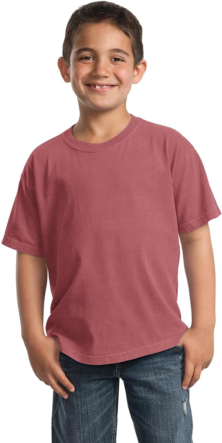 Red Rock M Port /& Company PC099Y Youth Essential Pigment-Dyed Tee